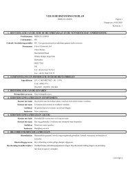 veiligheidsinformatieblad - Clover Chemicals Ltd