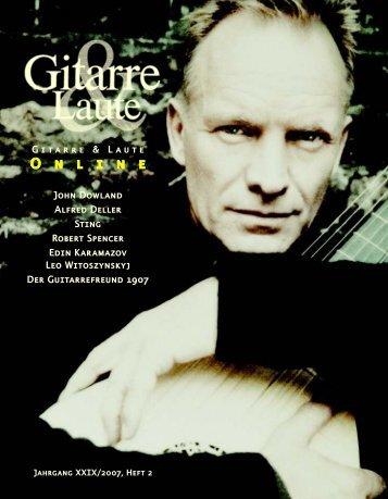 Gitarre & Laute XXIX/2007/Nº 2