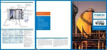 Overzicht industriële kasten - Fibox
