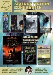 fantasy sci-fi skräck comics romans dvd roll- & brädspel ingång från ...