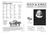 SOGN & KIRKE - Klejtrup Kirke