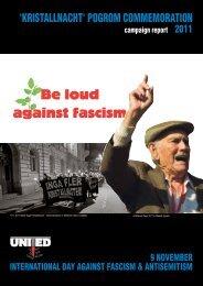 Be loud against fascism - UNITED for Intercultural Action