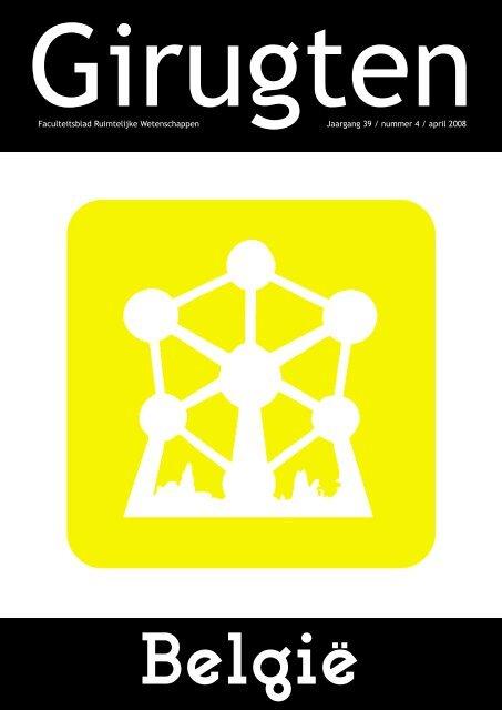 Faculteitsblad Ruimtelijke Wetenschappen Jaargang 39 ... - girugten