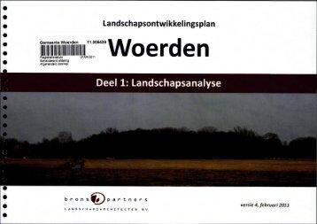 Landschapsanalyse - Gemeente Woerden