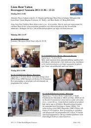 Lions Rent Vatten - Lions Club Distrikt 101 S