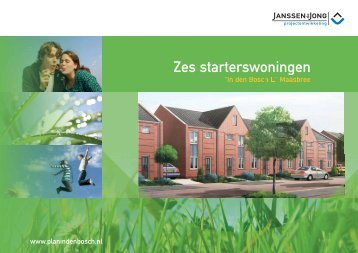 Zes starterswoningen - In den Bosch 2