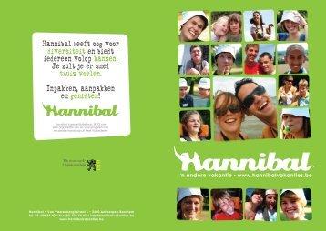 infofolder Hannibal - 'n andere vakantie