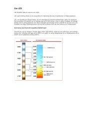 Information om LED-belysning. - Tottes-EL
