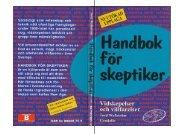 Handbok för skeptiker Vidskepelser och villfarelser - Läs en bok