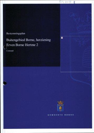 5. BP erven Borne Hertme 2.pdf - Bestuurlijke informatie gemeente ...