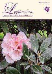 Nr. 1 - Den norske Rhododendronforening
