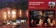 TEATRE PRINCIPAL DE CASTELLÓ - Castellón Cultural