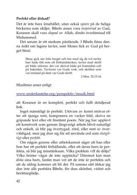 Att tala med muslimer - Hans Block