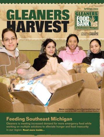 Feeding Southeast Michigan - Gleaners Community Food Bank