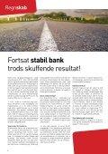 Fortsat stabil bank trods skuffende resultat! - Page 4