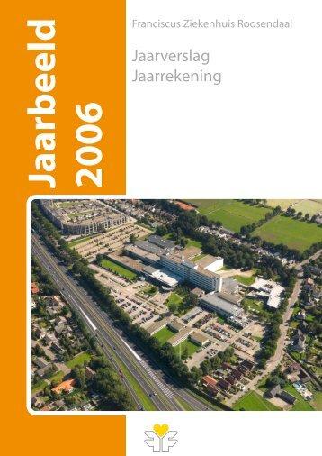 Jaarverslag 2006 - Franciscus Ziekenhuis