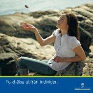 Folkhälsa utifrån individen