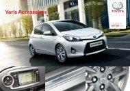 Toyota Yaris accessoires Brochure Nederland