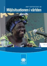 2008-028 Rapport nr 3 v2 Miljö.indd - Svenska FN-förbundet