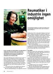 14 Gunilla, reumatiker i industrin - Välkommen till ...