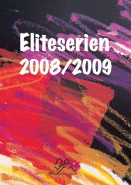 Eliteserieprogram 2008-2009