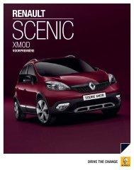 Brochure Scenic Xmod - Terwolde Renault