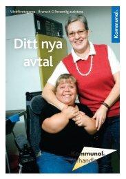 Ditt nya avtal - Vårdföretagarna Bransch G - Kommunal