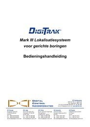 Ontvanger - Digital Control Inc.