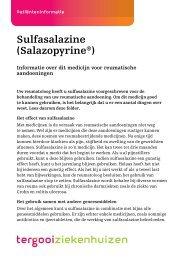 Sulfasalazine (Salazopyrine®) [54kb] - Tergooi