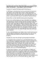 Samtale med instruktør Ditte Maria Bjerg og scenograf Palle Steen ...