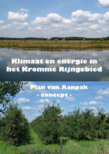 Kromme Rijngebied - Op de kaart van Utrecht