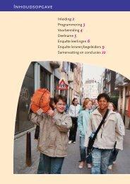 Verslag KunstSchoolDag 2004 - Stichting Jam