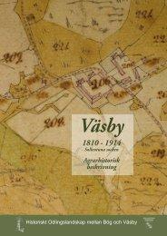 Väsby 1810-1914 Agrarhistorisk beskrivning - Sollentuna kommun