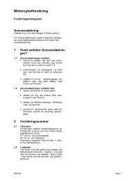 Motorcykelforsikring - Codan Forsikring A/S