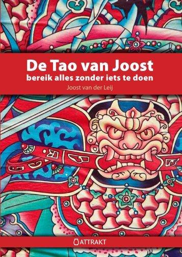 De Tao van Joost - The Institute of Unconventional Wisdom