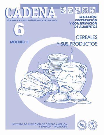 CADENA 6 – Cereales y sus productos