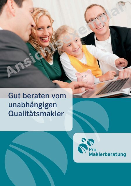 "Broschüre ""Pro Maklerberatung"" (PDF - 1 MB) - BiTMA"