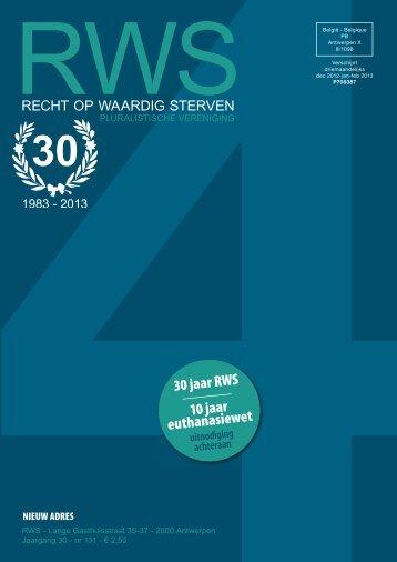 4de kwartaal 2012, 30° jaargang nr. 131, december 2012 - Recht op ...