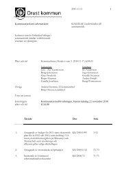 Arbetsutskottet 2010-11-17 Kallelse.pdf - Orust kommun