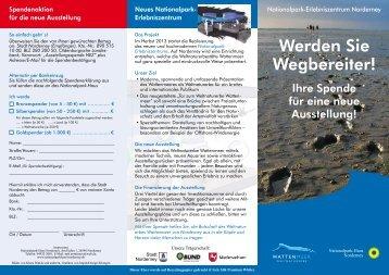 Flyer - Nationalparkhaus Norderney
