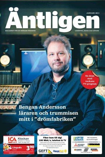 Bengan Andersson läraren och trummisen mitt i ... - Länstidningen