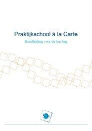 Praktijkschool à la Carte - Svh