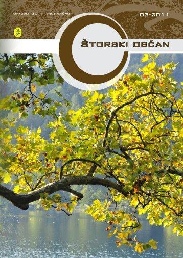Oktober 2011 - Občina Štore