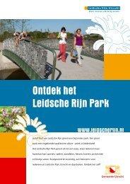 Ontdek het Leidsche Rijn Park - Villa Sculptura