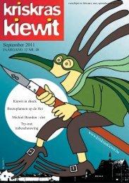 September 2011 - Kriskras Kiewit