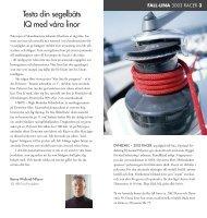 Testa din segelbåts IQ med våra linor - Poly-Produkter