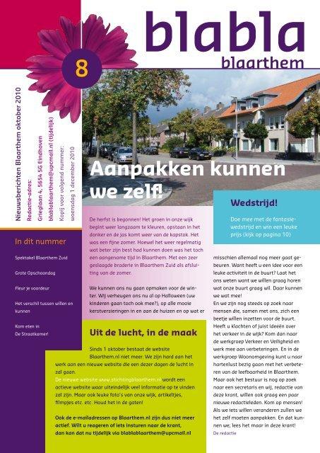 BlaBlaBlaarthem oktober 2010 PDF - Stichting Blaarthem