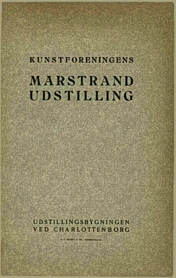 MARSTRAND UDSTILLING