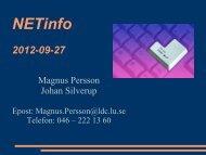 NETinfo 2012-09-27