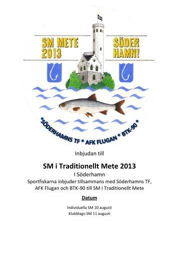 SM i Traditionellt Mete 2013 - Sportfiskarna